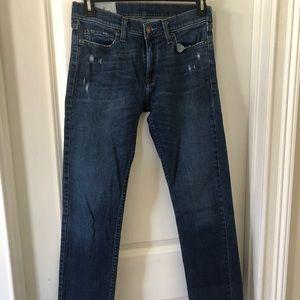 The Hollister slim straight 30/32 men's jeans